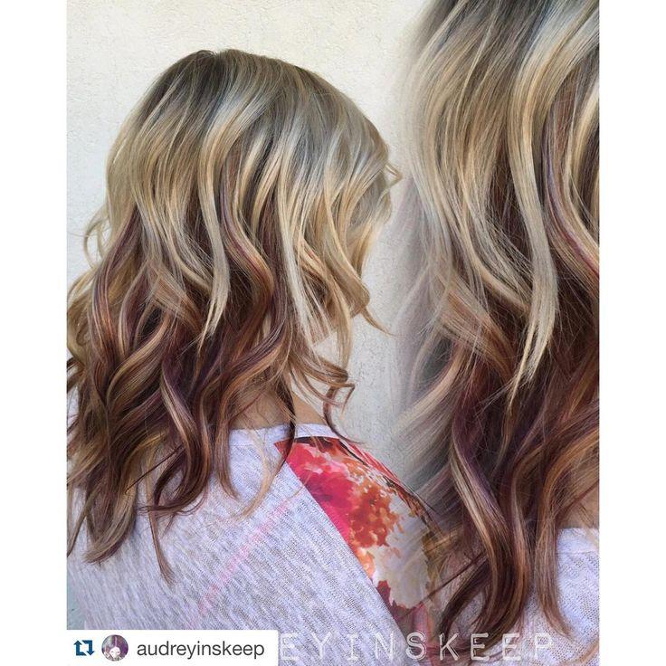 Een natuurlijke look met kastanjekleuren en blondtinten: 13 halflange 'bronde' kapsels