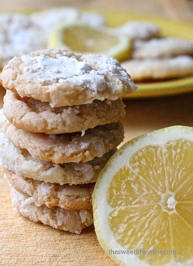 What happens when a vegan lemon bar and crinkle cookie have a baby? This. This happens. (hat tip to VegNews magazine)