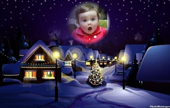Más de 700 montajes navideños para tus fotos