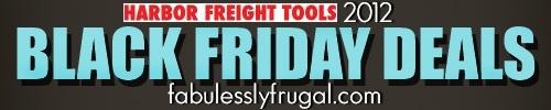 Harbor Freight Tools Black Friday deals