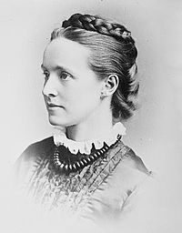 Millicent Garrett Fawcett (1847 – 1929) was a leading Suffragist and campaigner for equal rights for women. She led the biggest suffrage organisation, the non-violent (NUWSS) from 1890-1919 and played a key role in gaining women the vote.