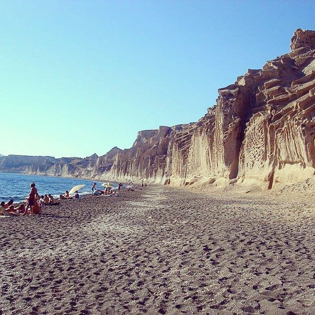 #Vlyhada #Beach #Santorini Photo credits: @photo_gallerysn
