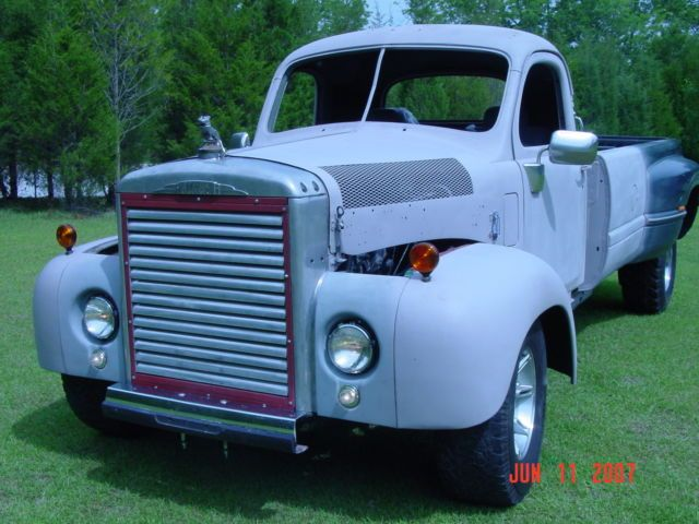 1960 Mack Truck, Large pickkup, supercharged/turbo Diesel, custom built for sale: photos, technical specifications, description