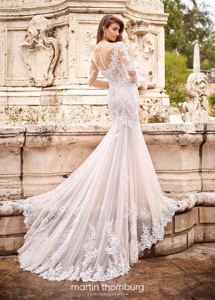 4d3537fbb719 Wedding Dress Inspiration - Martin Thornburg Collection from Mon Cheri