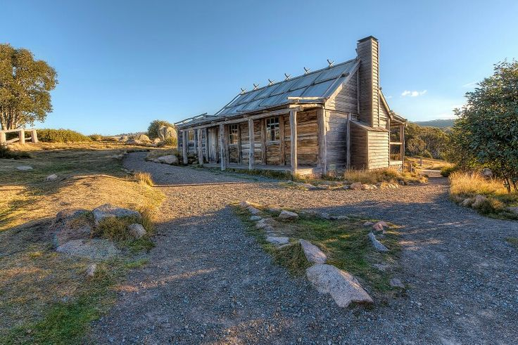 CRAIG'S HUT Mount Stirling, Victoria, Australia The wonderful Craig's Hut in Victoria's high country has been photographed a million times (might have embellished a little bit) but because of it's remote location and the fact that it is so photogenic, there are now one million and one photos of it. (1329)