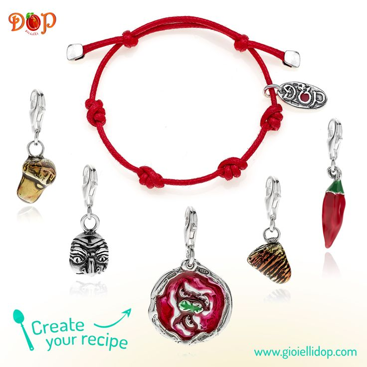 Discover #gioiellidop Campania Collection. Sterling Silver and Enamels Costume Jewelry, entirely handmade in Italy. Create your favorite recipe