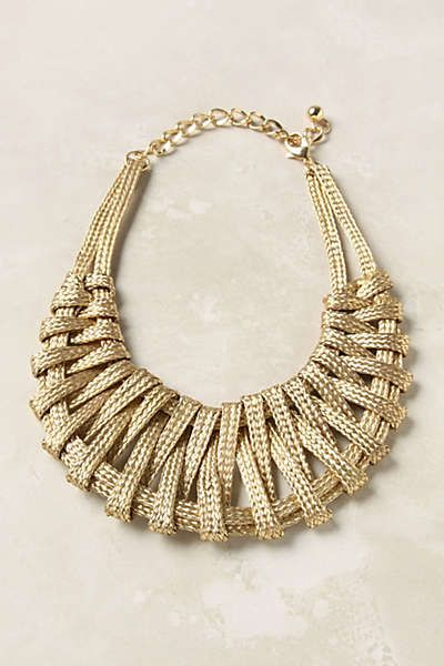 Anthropologie - Metallurgy Necklace