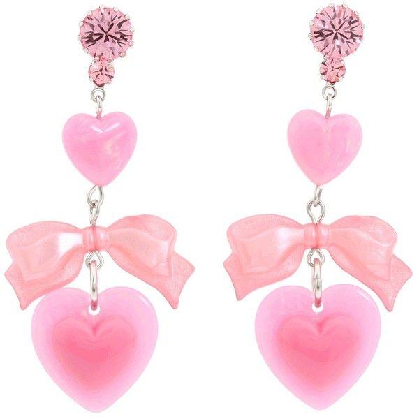 Tarina Tarantino - I Love Hearts/ I Hate Hearts Drop Earrings