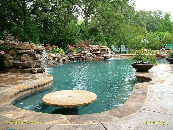 Swim up pool table in pool table claffey pools for Pool design dallas texas