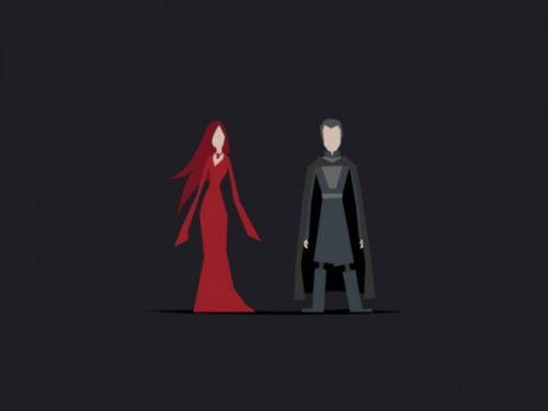 Game of Thrones (GOT) example #211: StuffNThings - Minimalist Game of Thrones art by Jerry Liu -...
