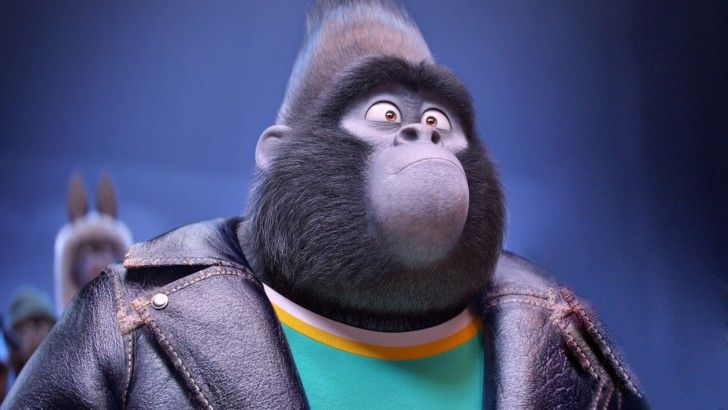 Sing 2016 Gorilla Johnny Movie Wallpaper