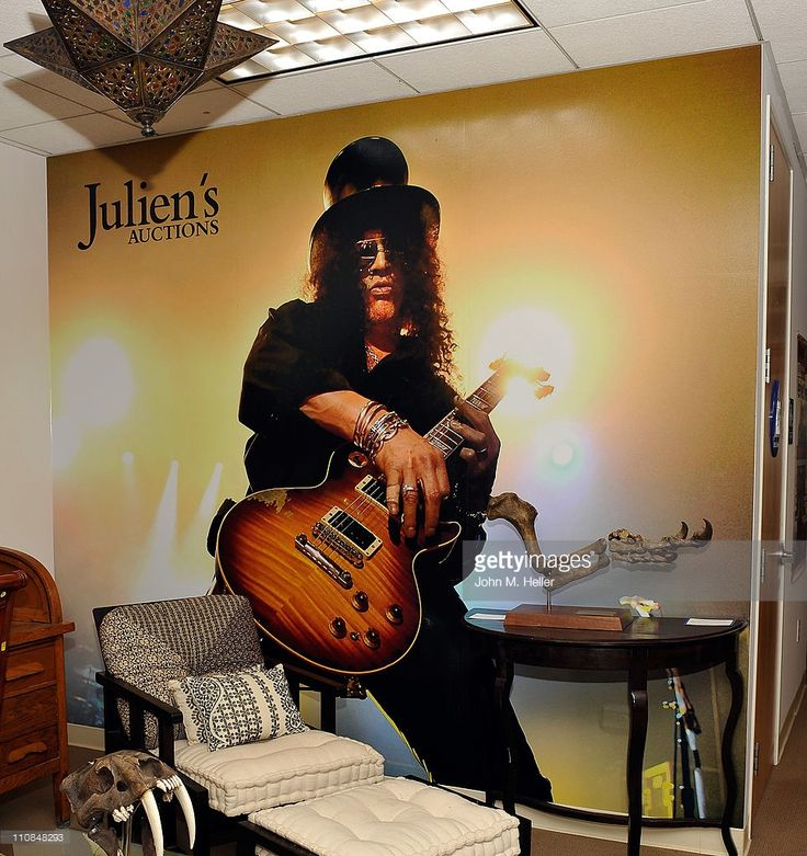 Guitarist/musician Slash holds a VIP Gala Auction Preview at Julien's on March 24, 2011 in Beverly Hills, California.