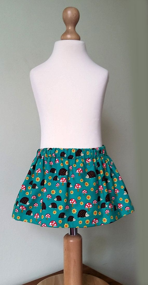 Check out this item in my Etsy shop https://www.etsy.com/uk/listing/242032956/woodland-skirt-hedgehog-skirt-kids