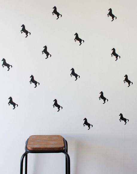 Horses Wall Stickers by One Hundred Percent Heart