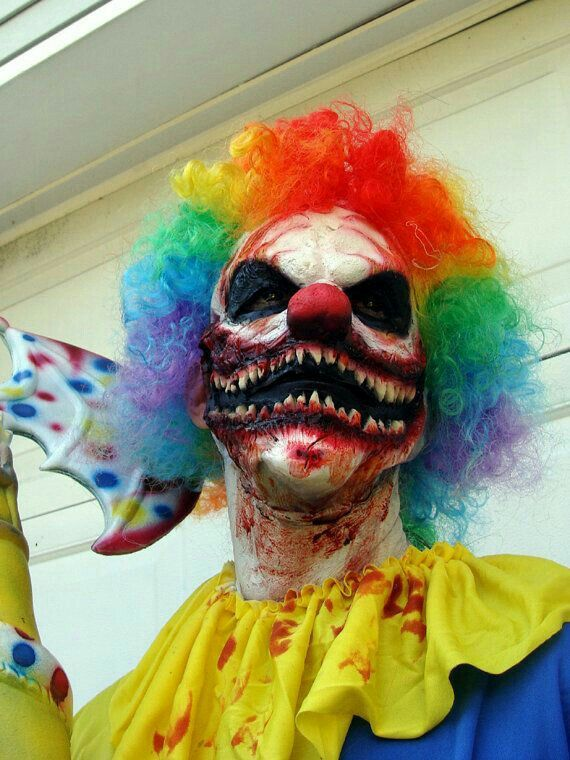 Scary clown · Scary Kids Halloween CostumesHalloween ... & 37 best Make up images on Pinterest | Artistic make up Halloween ...