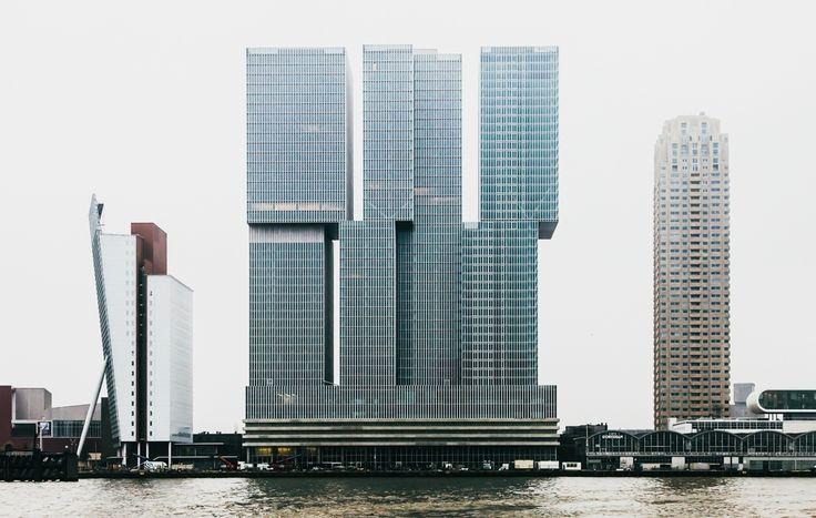 De Rotterdam / by Rem Koolhaas (photo by Richard John Seymour)