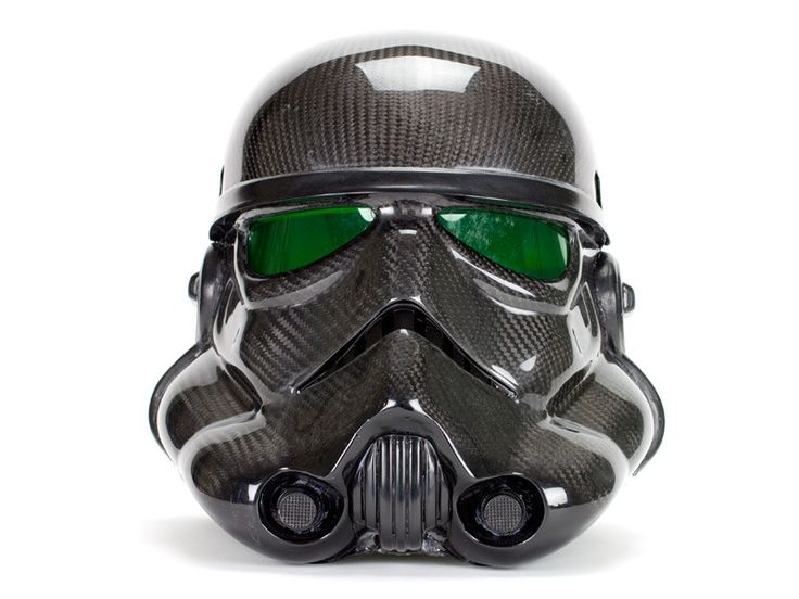 Carbon Fiber Stormtrooper Helmet - As Seen on Pawn Stars | Carbon Fiber Gear