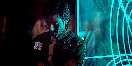 "And maybe you were like, ""Why hello there, Cassian Andor."" 