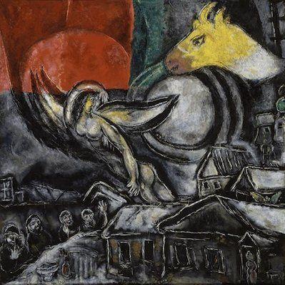 Les Pâques, par Marc Chagall