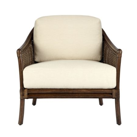 Mirens Cinnamon Tivoli Chair | A transitional piece that is comfortable and elegant