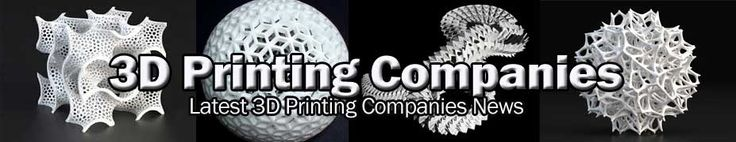 Commercial 3 dimensional Printer Models and and Online 3D Printing Companies.
