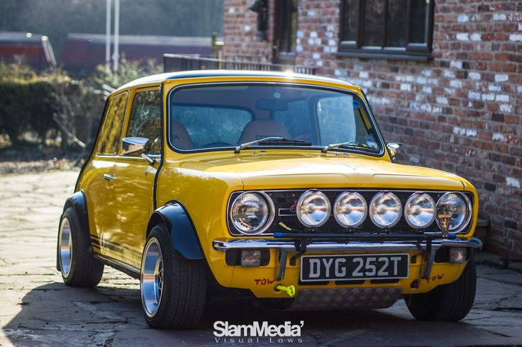 classic mini 1275 gt bonnet badge - Google Search