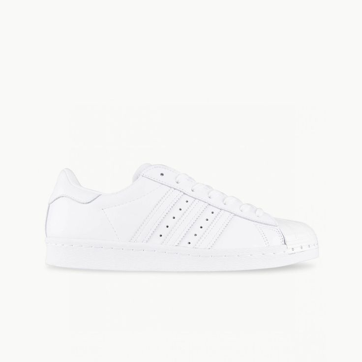 ADIDAS ORIGINALS SUPERSTAR 80s: White/White Metal | Available at HYPE DC
