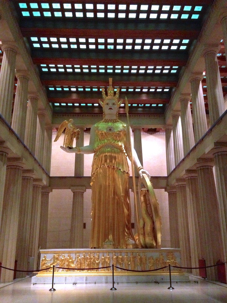 Parthenon Nashville TN  lbw photos... One day I will go to the real one.