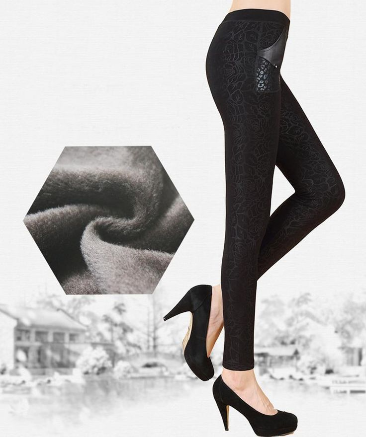 Warm Leggings Winter Thick Legging Women Casual Bottoms Double layer Hidden patterns Wool legins Pants for Female  #legins #sexyfitness #leggins #sport #loveleggs #sexyleggings #sexyleggins #leggings #yoga #loveleggings