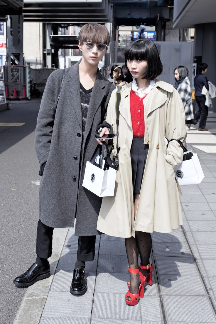 Twins Yusuke Hida (@screamer29) and Asami Hida (@asamisscream) - Photographed by Kira/TokyoFashion.com