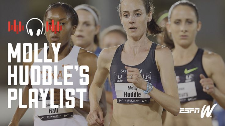 Olympic runner Molly Huddle updates her iPod playlist only a couple of times a year, and when she does, she sticks with it. Right now that means a lot of Beyonce, Madonna and Nicki Minaj.