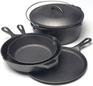 Buy Lodge Cast Iron Skillet, Griddle, Cookware Sets for Less Online