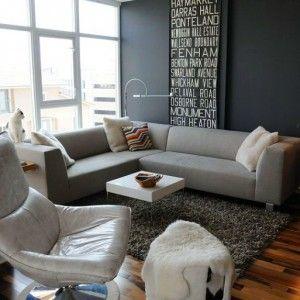 Γωνιακός καναπές στο σαλόνι   Small Things