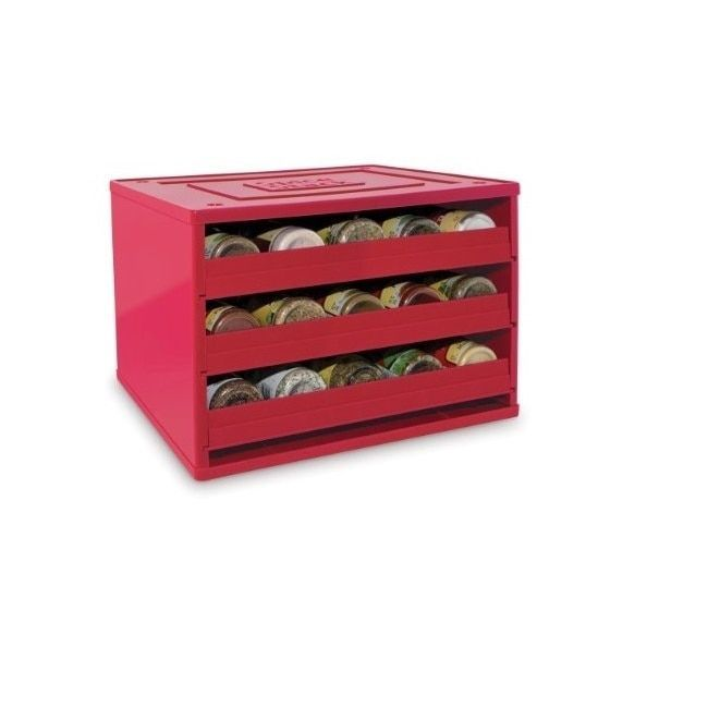 YouCopia Chef's Edition 30 to 60 Spice Bottles SpiceStack Spice Organizer
