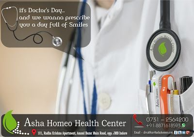 Asha Homeo Health Center: # Asha Homeo Health Center : Happy Doctor's Day