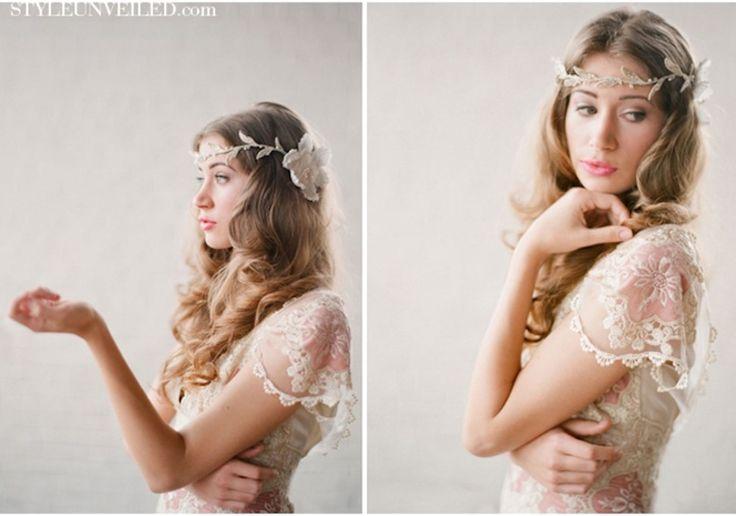romantische Hochzeit Frisuren Bohème Braut in Claire Pettibone 3 – wedding_ideas