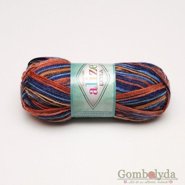 Extra Florklorik batik 4896 - Gombolyda.hu - Fonalbolt és Kézművesműhely