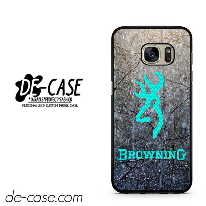 Browning Deer With Flag Name DEAL-2149 Samsung Phonecase Cover For Samsung Galaxy S7 / S7 Edge
