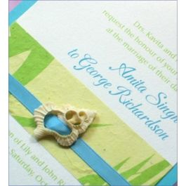 Sliced seashells add a beautiful and authentic touch to invitations, programs, menu cards, and gift boxes for any beach themed event or special gift. Could also be used for placecards, table numbers as well as party favor packaging. Simply run a ribbon or tie through the openings in the shell to tie it onto just about anything. You will receive an assortment of sliced seashell types and colors which are available in the following ...