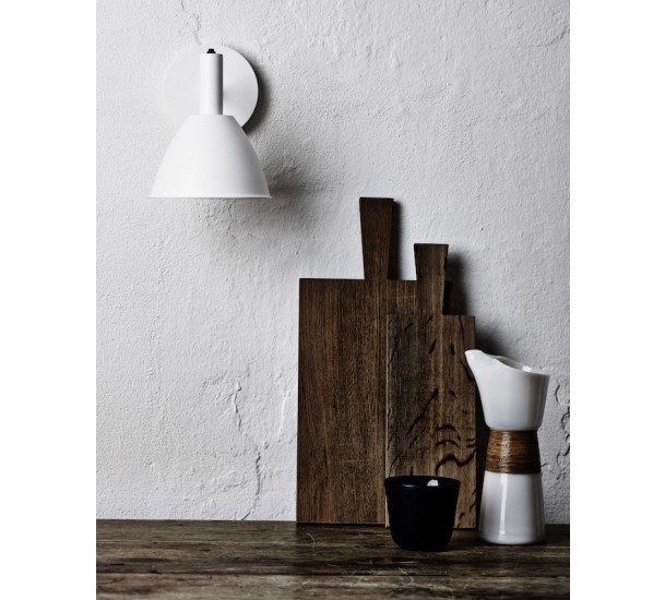Lumini Bauhaus Vaeglampe Hvid In 2020 Wall Lights Design Bauhaus