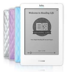Kobo touch sensitive e-reader! i love with mine
