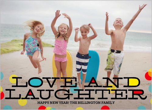 Love To Laugh 5x7 Stationery Card by Poppy Studio | Shutterfly.com