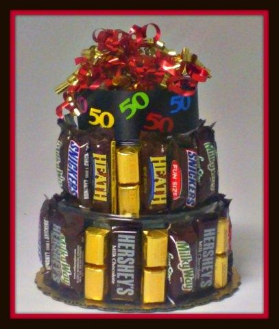 50th Birthday Party Candy Source Http Cookiepots Com