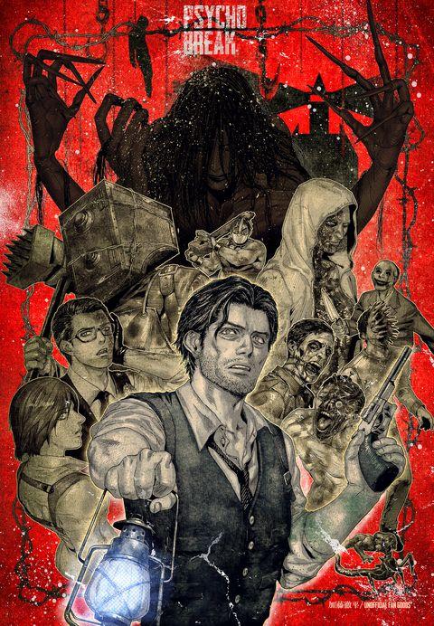 The Evil Within / Psychobreak artwork by 加藤徹平  Prprprprpr
