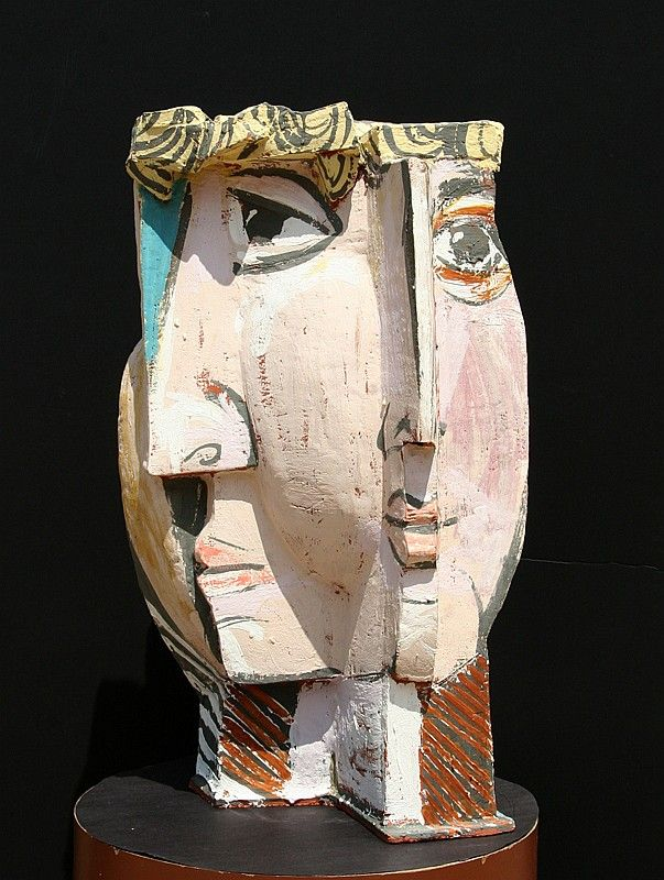 Pablo Picasso, In the Style of , Spanish (1881 - 1973)   Title: Cubist Face   Year: circa 1985