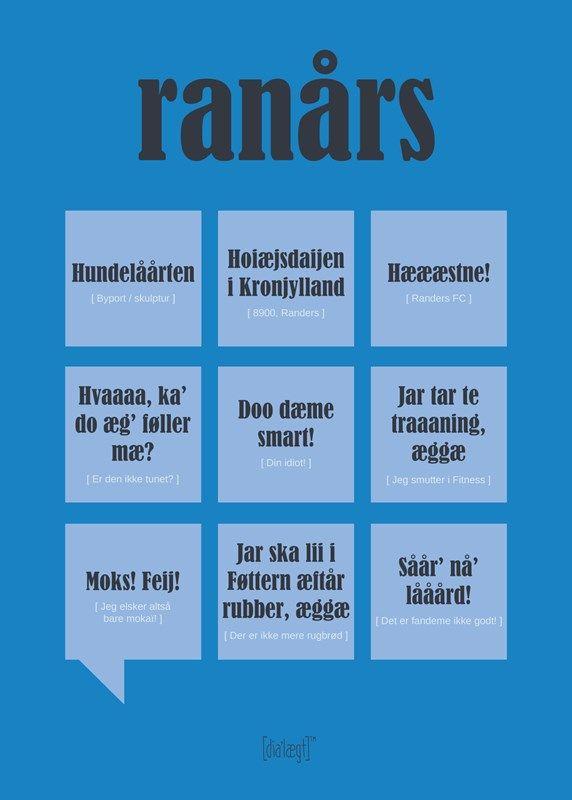 Ranårs Poster from Dialægt