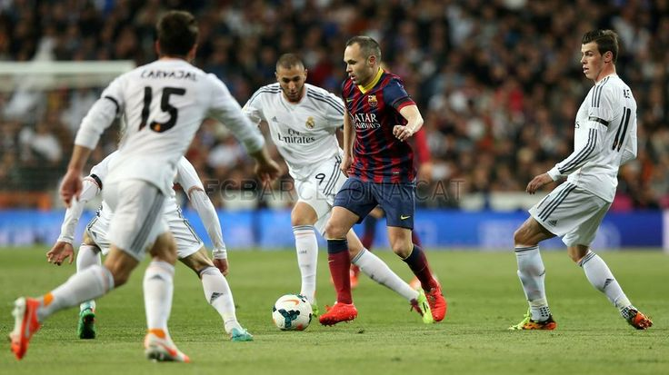 Real Madrid 3 - 4 FC Barcelona #FCBarcelona #Game #Match #Liga