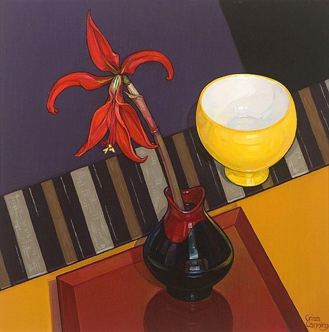 Jacobean Lily, Criss Canning, #flowers #art