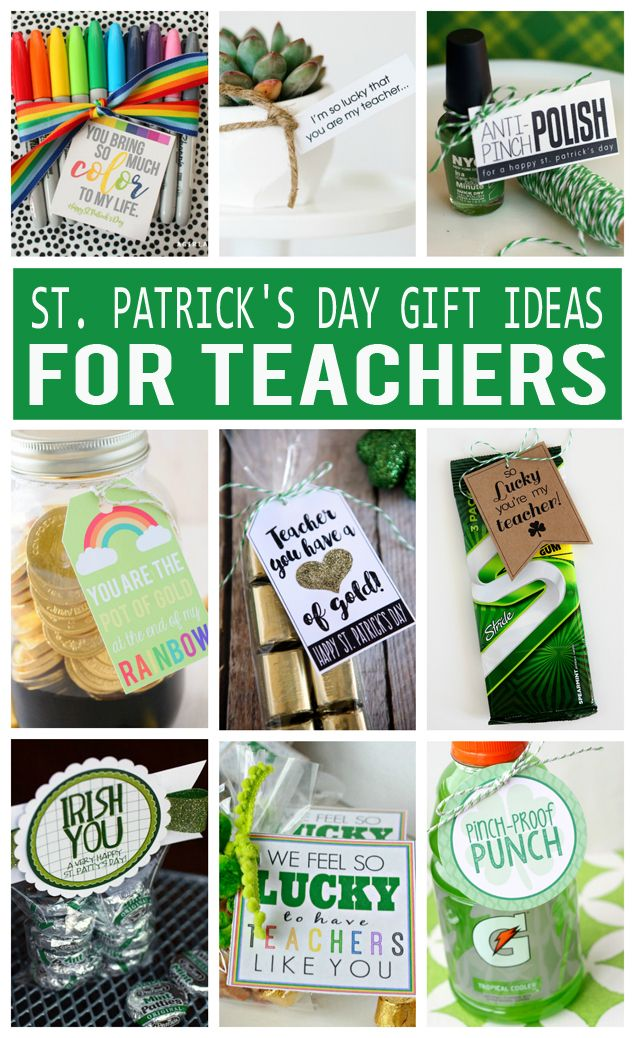 St. Patrick's Day Gifts For Teachers