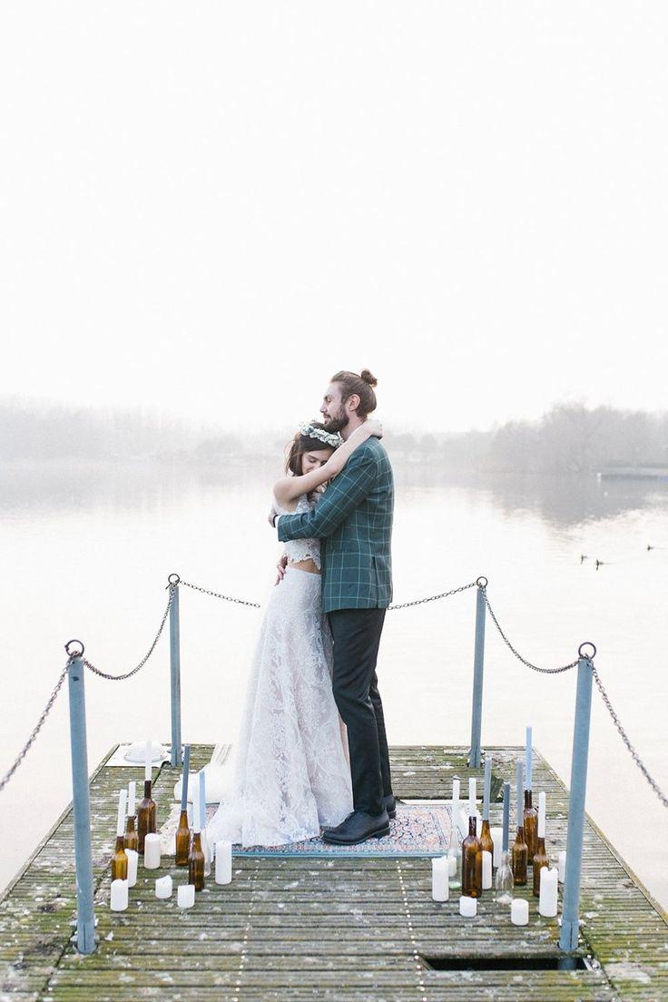 small beach wedding ceremony ideas%0A Dock Wedding Ceremony